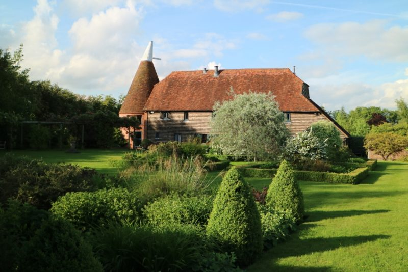 giardino privato nel Kent